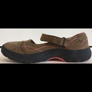 Keen Shoes - KEEN Mary Jane Suede Strap Slip Ons